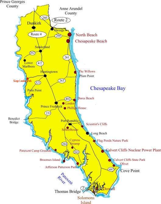 New Home Communities In Calvert County Maryland